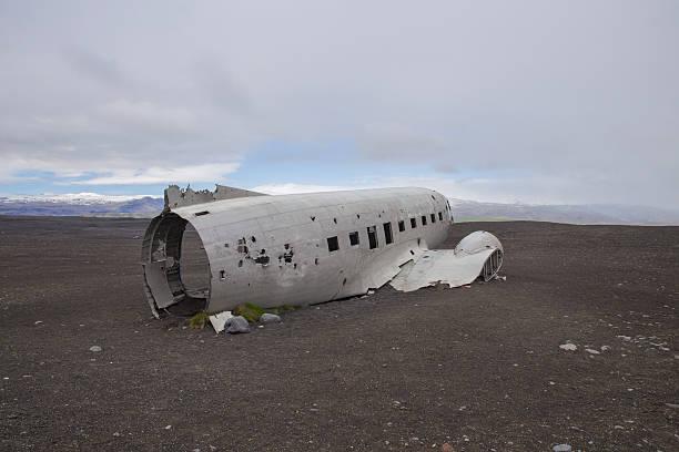 Solheimasandur Plane Wreck Solheimasandur Plane Wreck in South Iceland, June 2015 sólheimasandur stock pictures, royalty-free photos & images