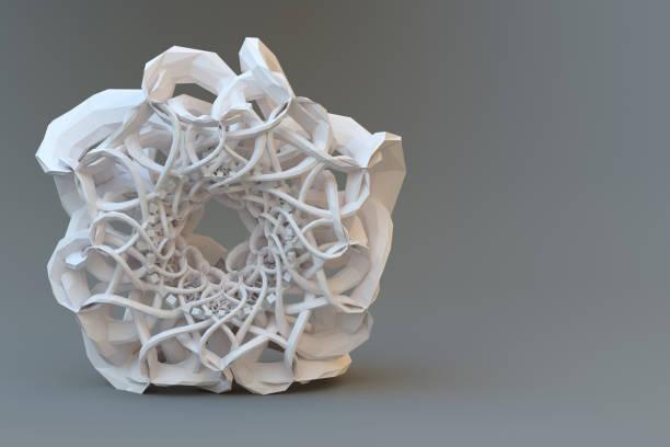 Solides 3D fraktal. – Foto