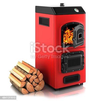 istock Solid fuel boiler 484131810