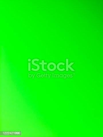 Green gradient and solid background