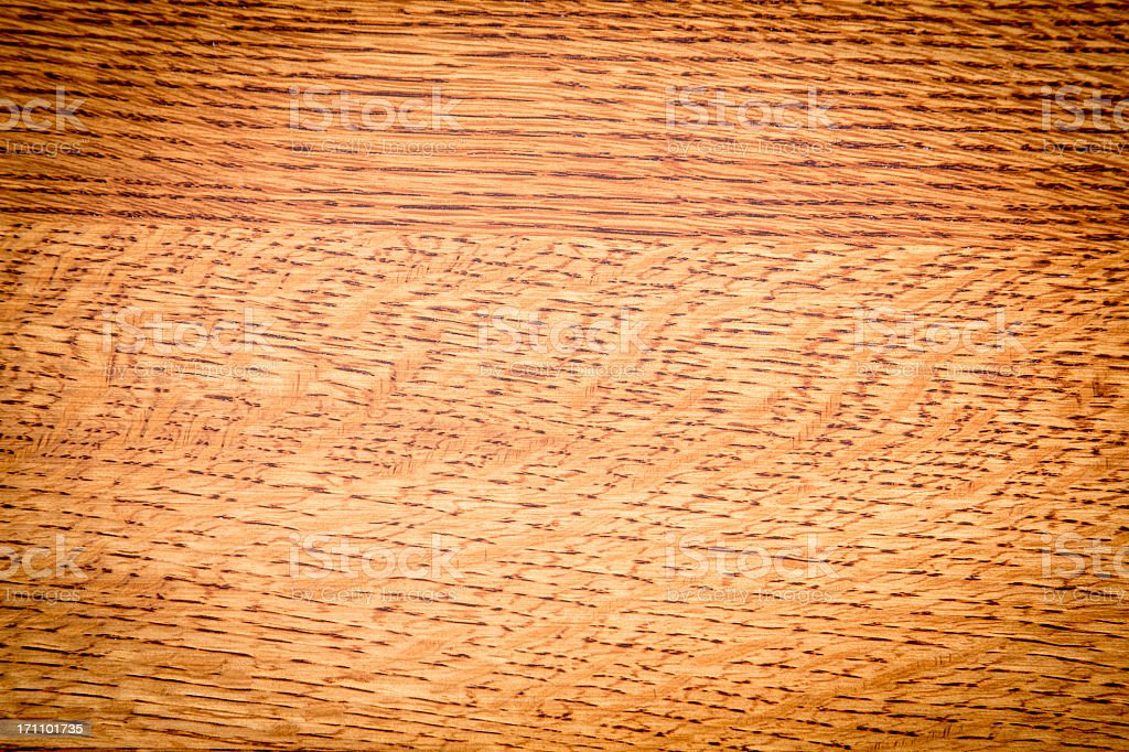 Solid Oak Wood Background royalty-free stock photo