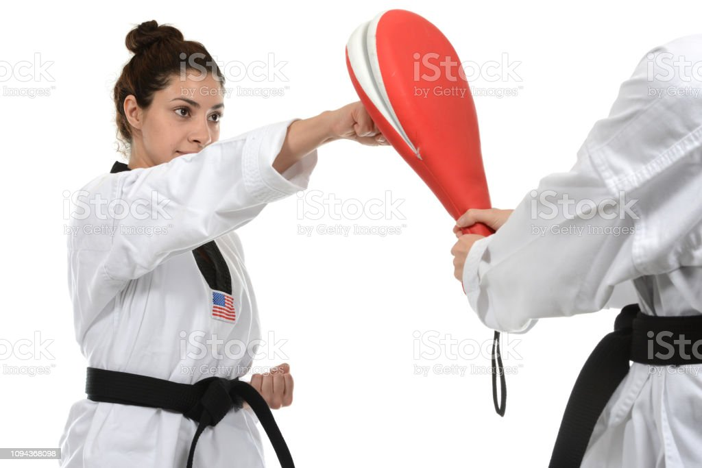 Solid Punch stock photo