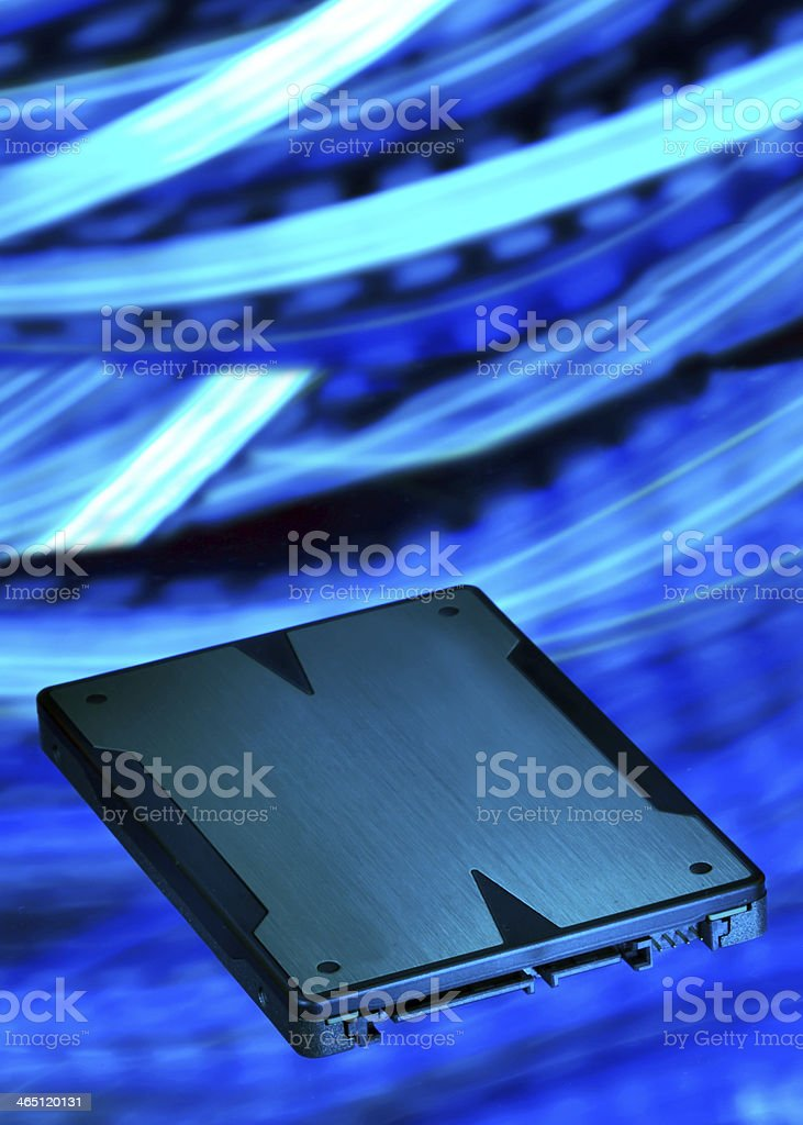 solid state drive stock photo