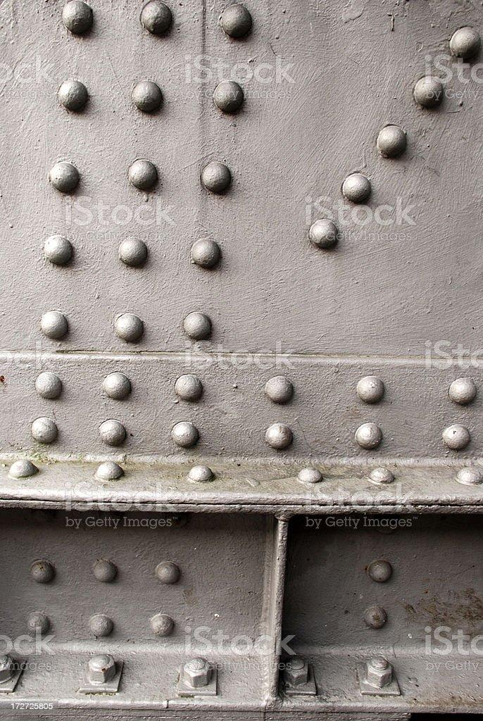 Solid Steel stock photo