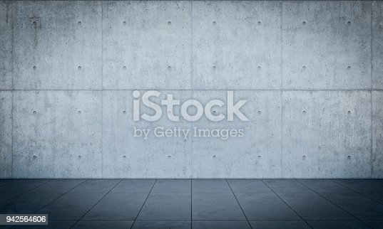 solid concrete wall background 3d rendering image
