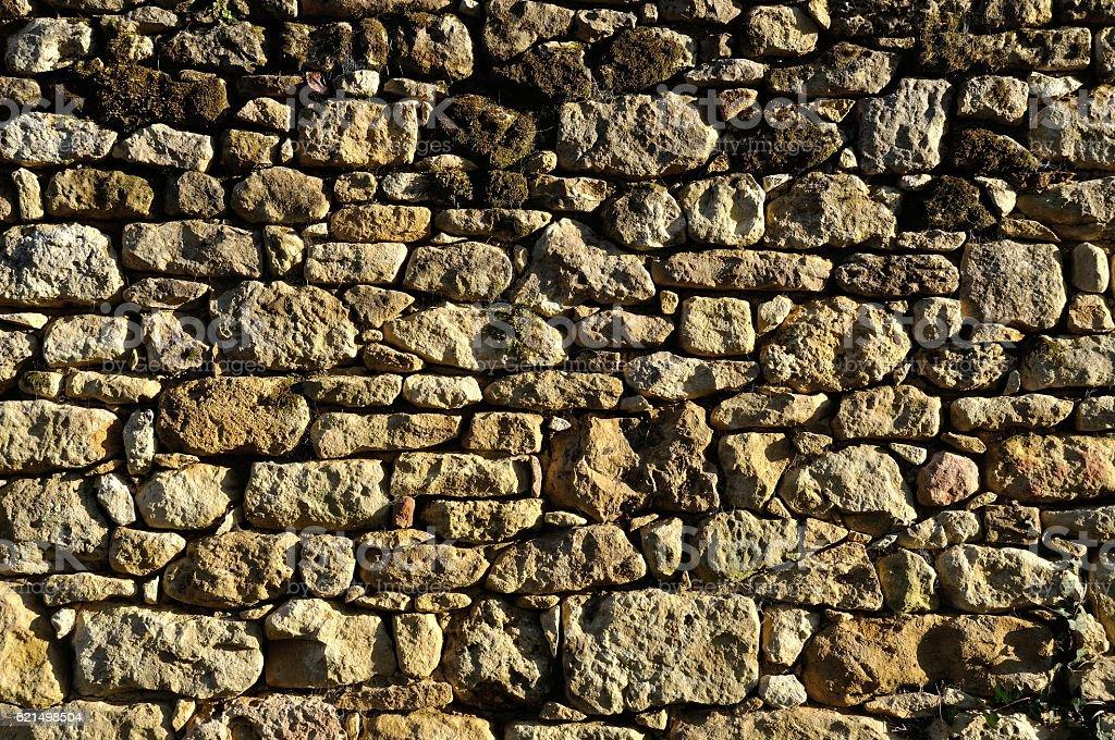Einfarbige Wand aus Stein  Lizenzfreies stock-foto