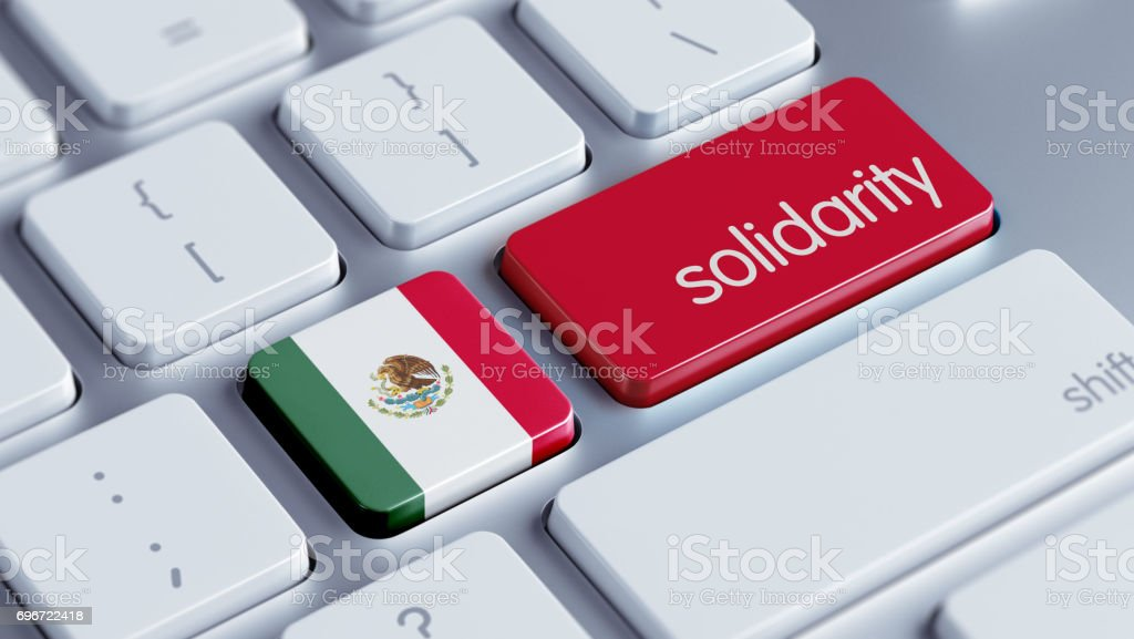 Solidarity Concept stock photo