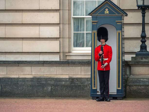 Solider of Buckingham Palace, London England – Foto