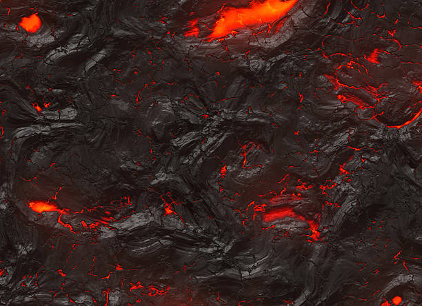 solidified hot lava texture of eruption volcano solidified hot lava texture of eruption volcano lava stock pictures, royalty-free photos & images