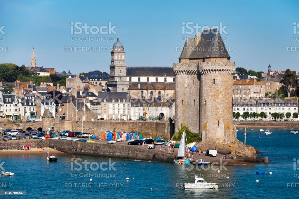 Solidor Tower in Saint-Malo - Royalty-free Architecture Stock Photo