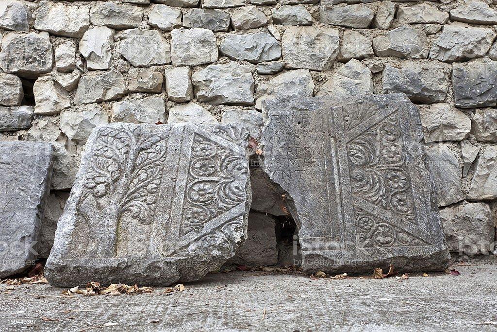 Solin (Salona), Croatia stock photo