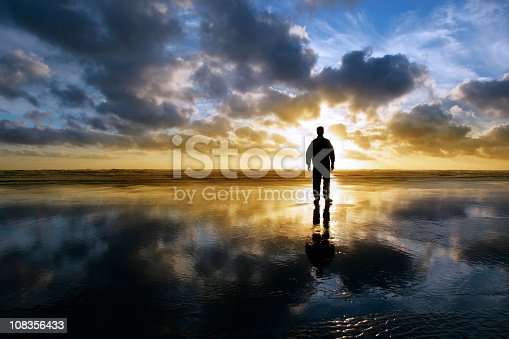 istock XXL solitude beach silhouette 108356433