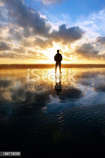 istock XXL solitude beach silhouette 156718230