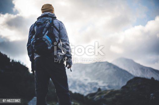 istock Solitude in mountains 614622382