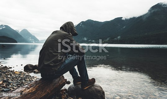 solitude man in canada