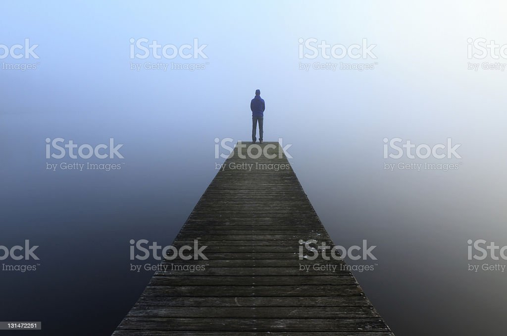 Solitude stock photo