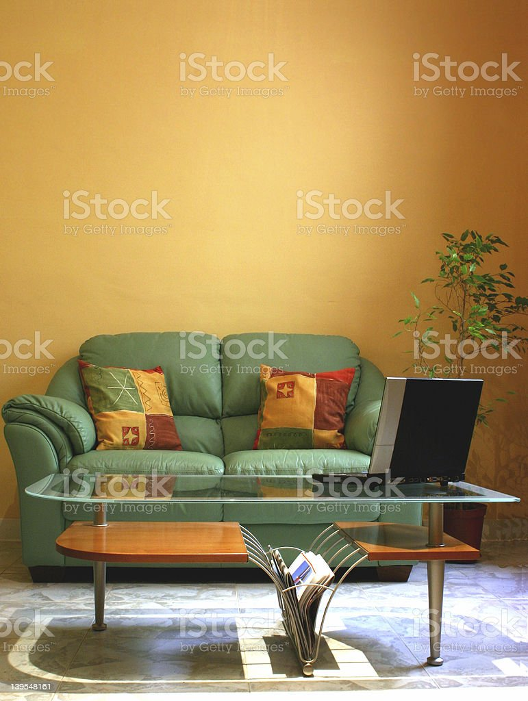Solo Laptop royalty-free stock photo