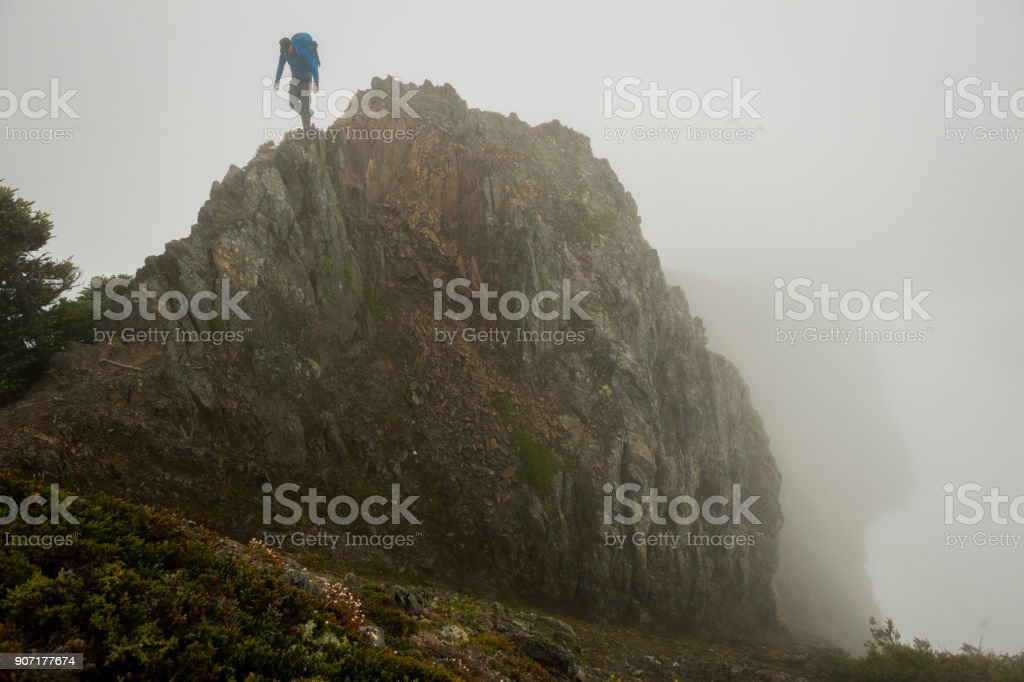 Solo travel stock photo