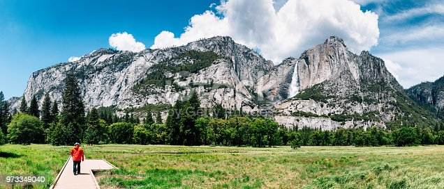 903015102istockphoto Solo Traveler at Yosemite National Park 973349040
