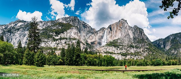 903015102istockphoto Solo Traveler at Yosemite National Park 973357514