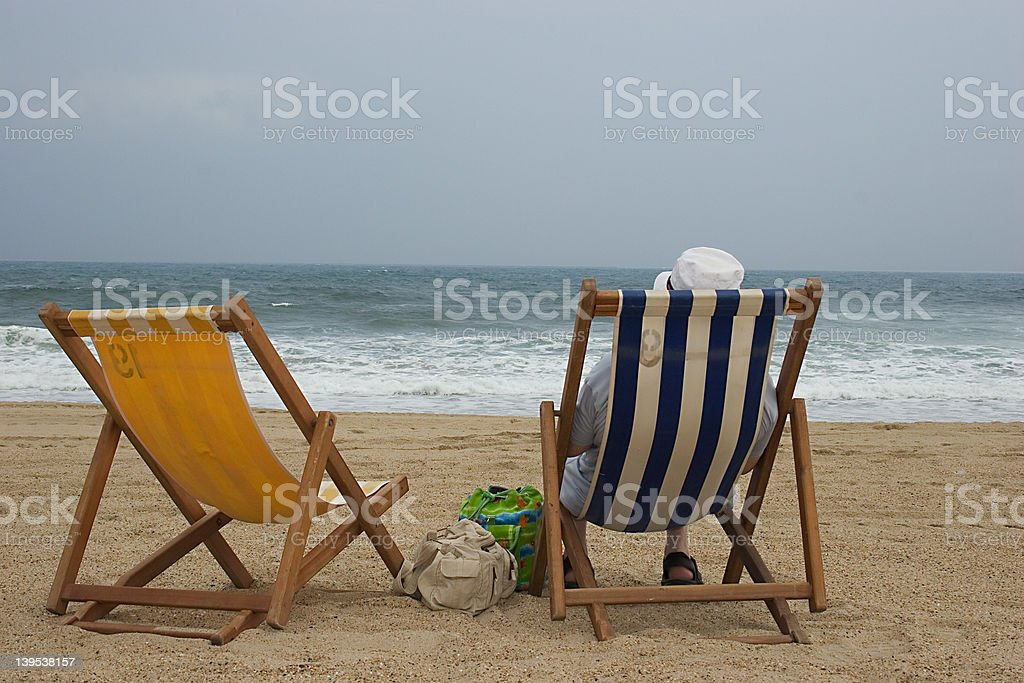Solo vacation royalty-free stock photo