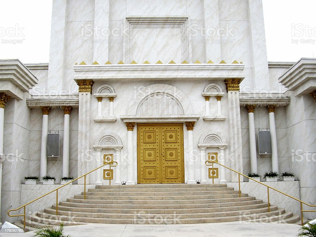 Solomon's Temple stock photo