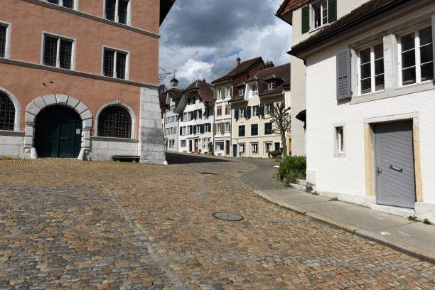 Solothurn Old Town stock photo