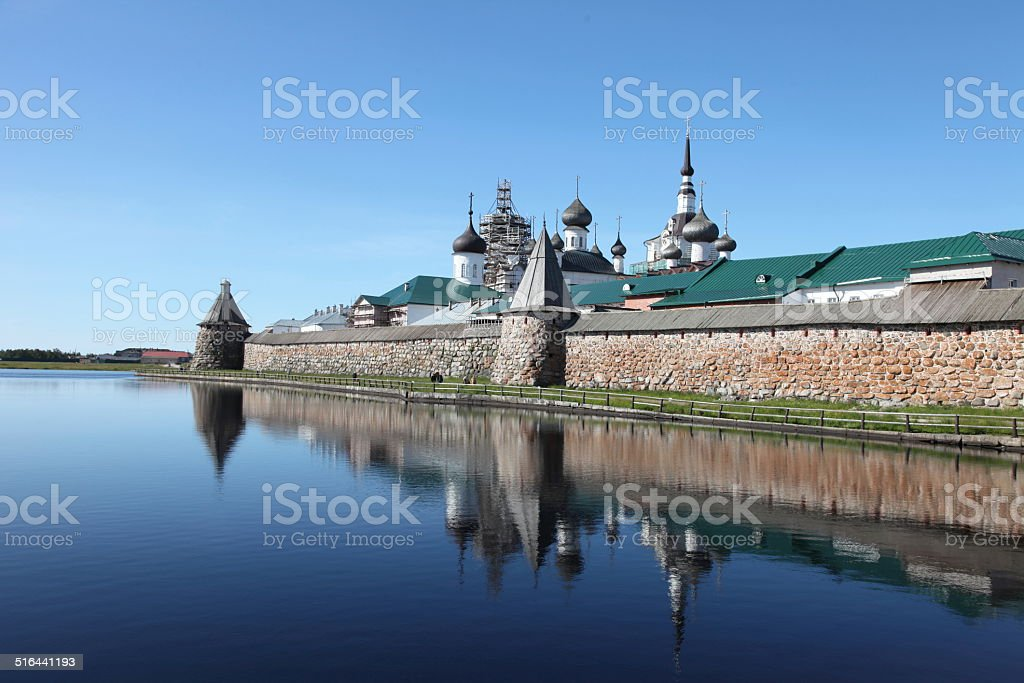 Solovetsky Islands (Solovki) stock photo
