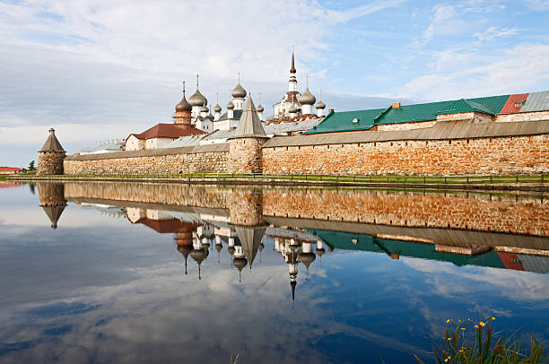 Solovetsky Monastery  republic of karelia russia stock pictures, royalty-free photos & images