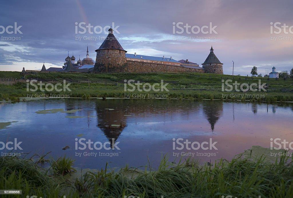 Solovki royalty-free stock photo