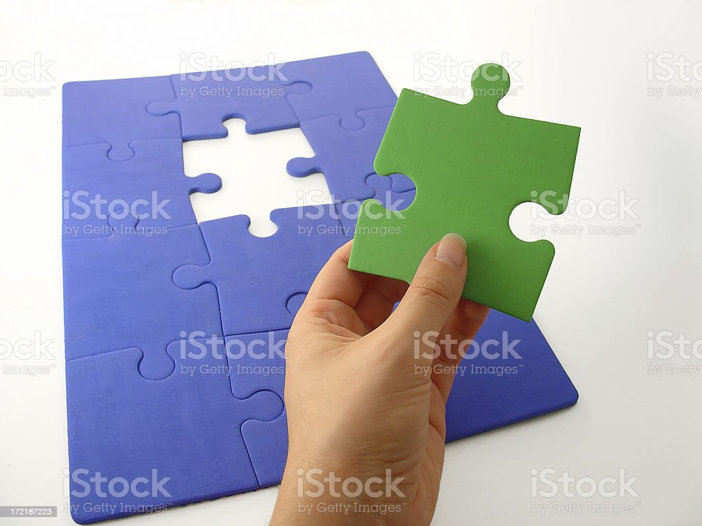 Solution 2 royalty-free stock photo