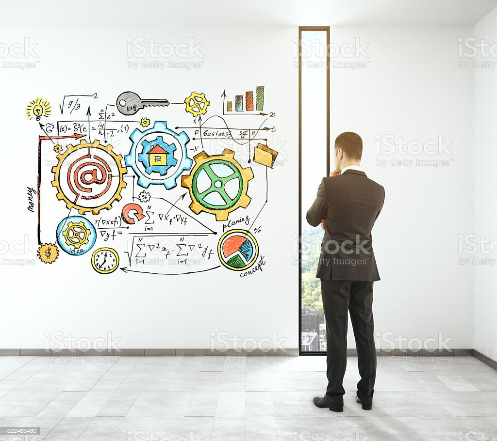 Solution concept colorful stock photo