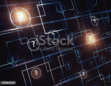 istock Solution concept 829846454