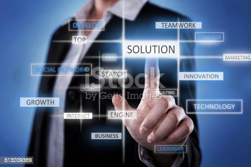 istock Solution idea 513209389