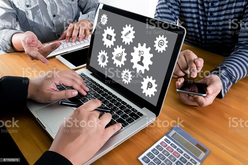 Solution Strategy Planning Branding business Marketing royalty-free stock photo