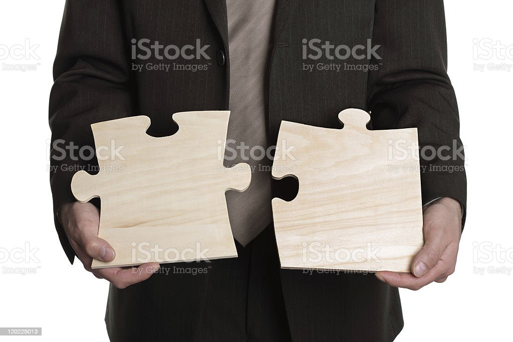 Solution to a problem royalty-free stock photo