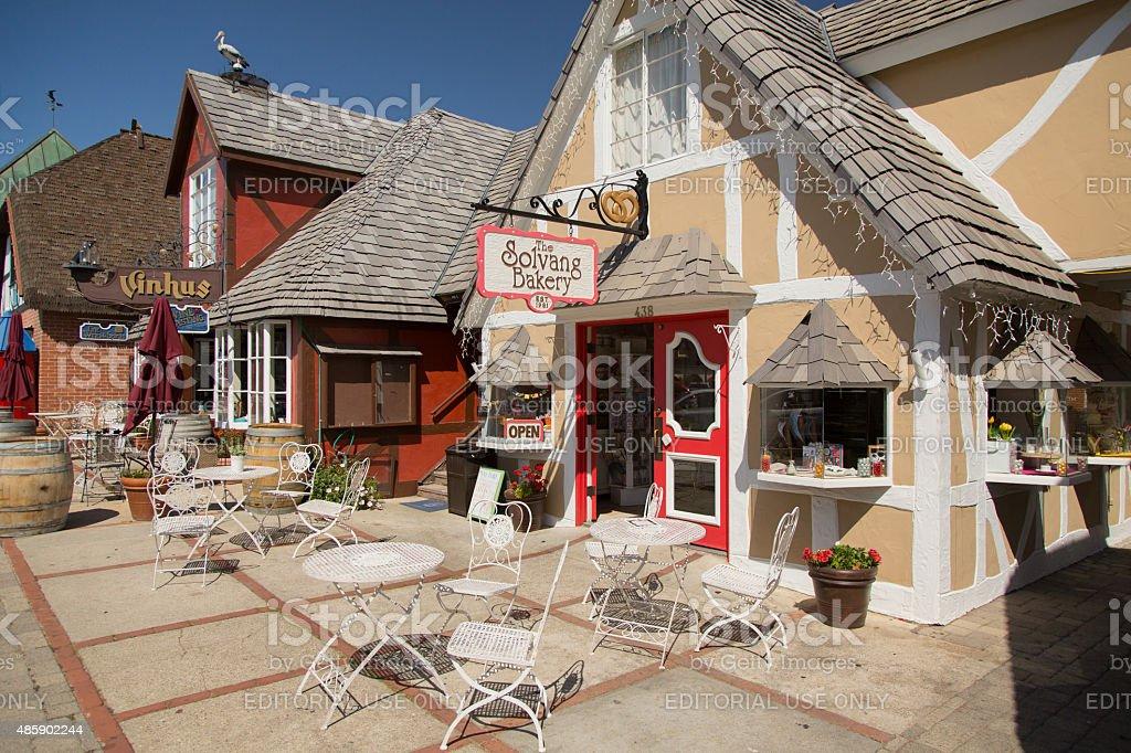 Solvang Bakery stock photo