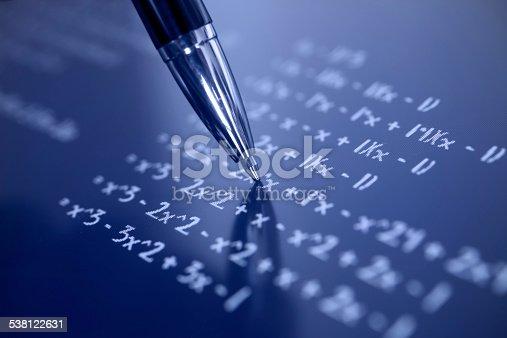 899619542 istock photo Solving math 538122631