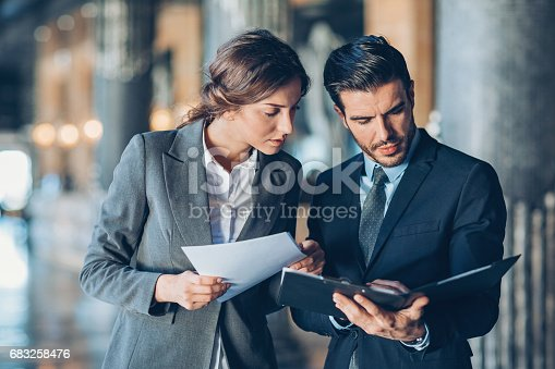 istock Solving problems as a good team 683258476