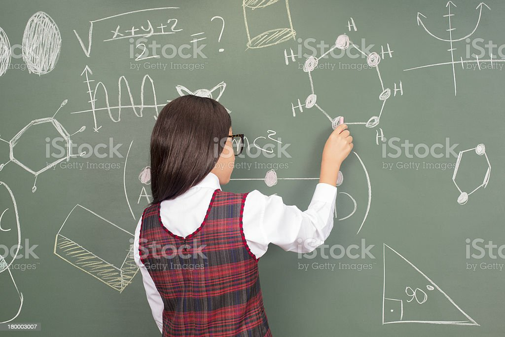 Solving Problems royalty-free stock photo
