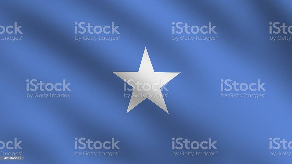 Somalia flag stock photo
