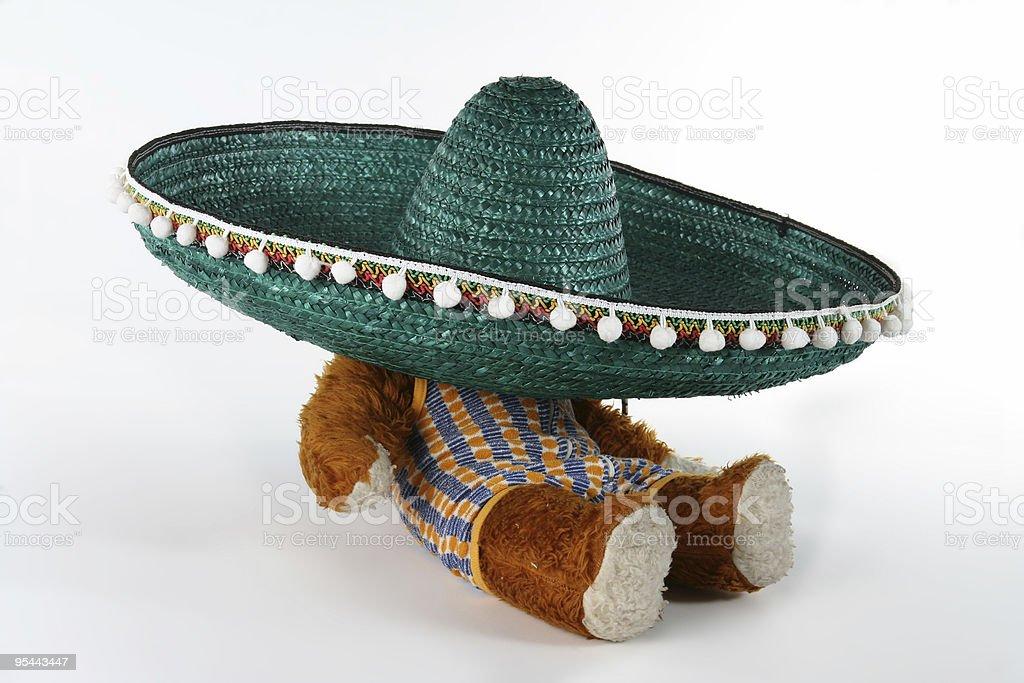 Mexikanische Sombrero-Konzept – Foto