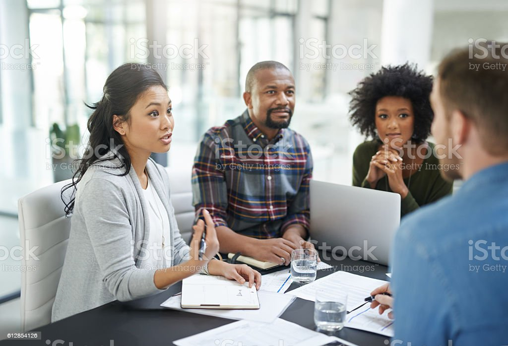 Some are dreamers, they are doers stock photo