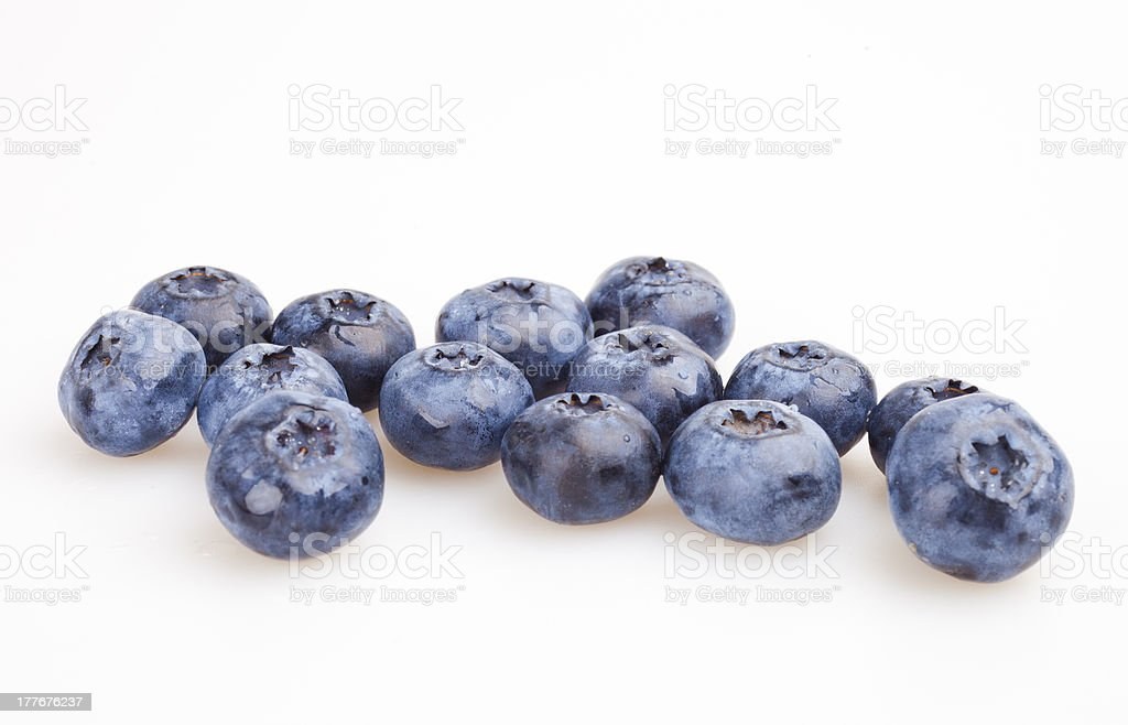 some blueberries royalty-free stock photo