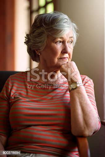 istock Some call it regret, others call it life lessons 800378694