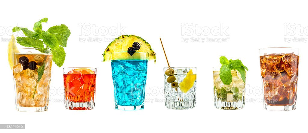 Some cocktail stock photo