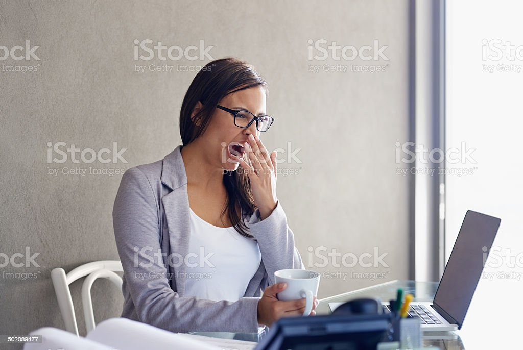 Some days seem longer than others stock photo