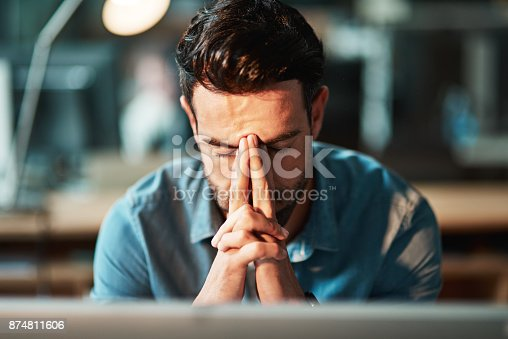 istock Some days you just can't handle the hustle 874811606