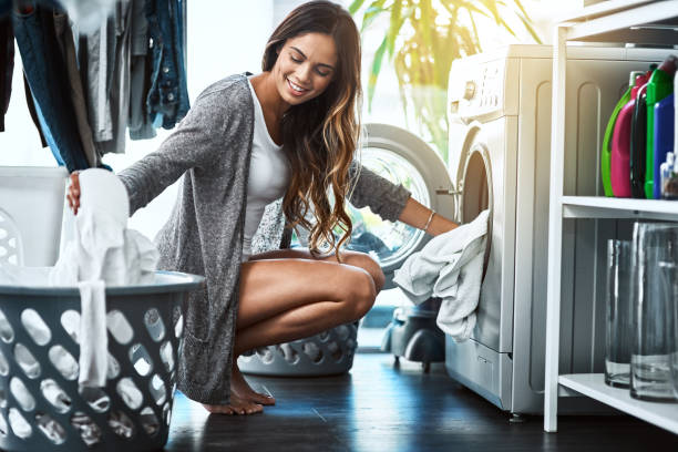 some might not enjoy this but i do - laundry laundry room stock photos and pictures