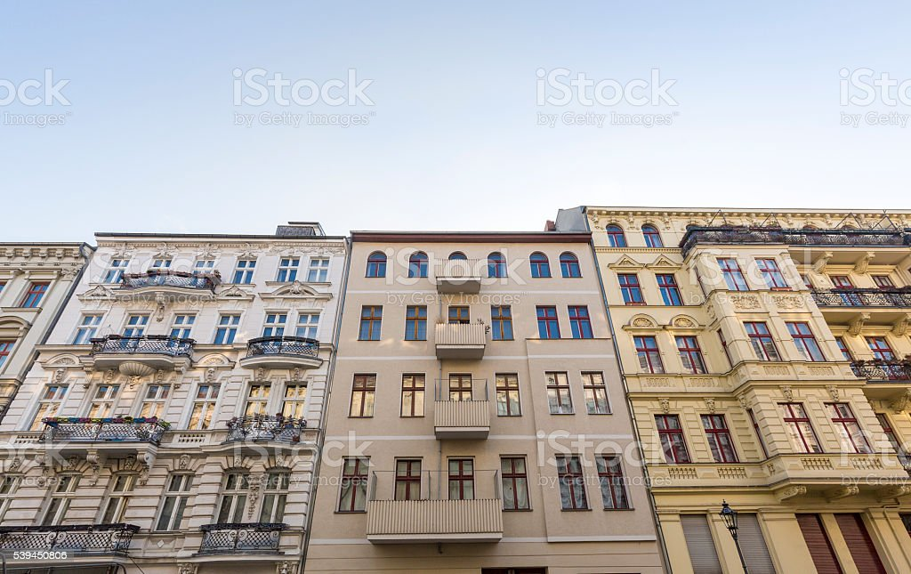 Alte Häuser im Kreuzberg im Berlin. – Foto